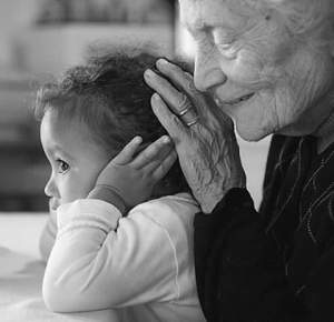 nonna e bambina