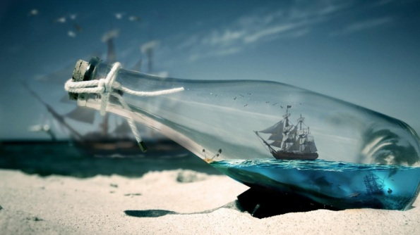 Water-Bottle-Sea-Ships